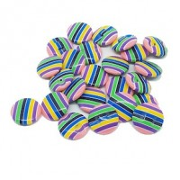 "LOGIN TO VIEW PRICINGAcrylic ButtonStripes15mm (5/8"") diaMin. 1 Doz. - Product Image"