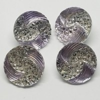 "LOGIN TO VIEW PRICINGAcrylic ButtonSilver/Rhinestone20mm (3/4"") diaMin. 6 Units - Product Image"