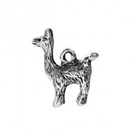 LOGIN TO VIEW PRICINGZinc AlloyAlpaca Charm18mm x 15mm Min. 1 doz. - Product Image