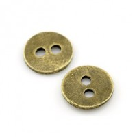 "LOGIN TO VIEW PRICINGAntique BronzeDecorative Round11mm ( 3/8"") diaMin. 1 doz. - Product Image"