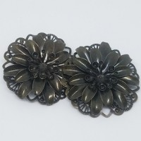 "Antique Bronze Flower50mm (1 7/8"")Min.6 Units - Product Image"