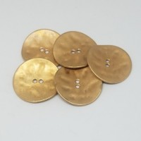 "Antique GoldCurved - Hammered30mm (1 1/8"")Min. 6 Units - Product Image"
