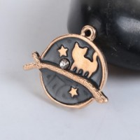 "LOGIN TO VIEW PRICINGGalaxy CatRhinestone/EnamelColors vary22mm(7/8"") - Product Image"