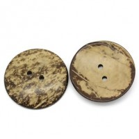 "Coconut Shell50mm (2"") DiaMin. 6 Units - Product Image"