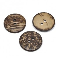 "Coconut Shell38mm (1 1/2"") DiaMin. 6 Units - Product Image"