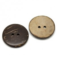 "Coconut Shell30mm (1 1/8"") DiaMin. 6 Units - Product Image"