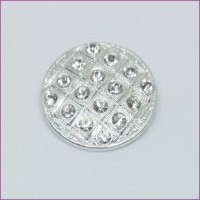 DiscRhinestone Button22mm dia. - ShankMin. 6 Units - Product Image
