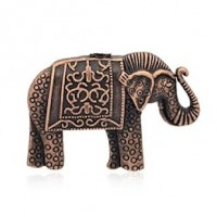 "LOGIN TO VIEW PRICINGElephantRed CopperTibetan Style48mm x 34mm(1 7/8"" x 1 3/8"") - Product Image"
