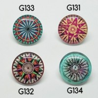 "Half Round Dome GlassCompass20mm (3/4"") diaMin. 6 Units - Product Image"