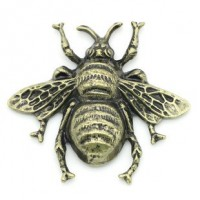 "Antique Bronze Bee40mm x 35mm(1 5/8"" x 1 3/8"")Min.6 Units - Product Image"