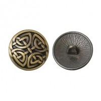 "Antique BronzeCeltic Knot17mm ( 5/8"") DiaMin. 6 Units - Product Image"