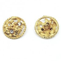 "LOGIN TO VIEW PRICINGMetal/Rhinestone ButtonFlowers22mm (7/8"") dia. - ShankMin. 6 Units - Product Image"