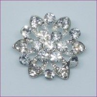 LOGIN TO VIEW PRICINGFlowerRhinestone Button22mm dia. - ShankMin. 6 Units - Product Image