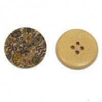 "Wood ButtonForest30mm (1 3/16"") diaMin. 6 Units - Product Image"