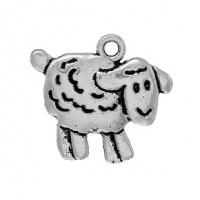 LOGIN TO VIEW PRICINGZinc AlloySheep Charm18mm x 16mm Min. 1 doz. - Product Image